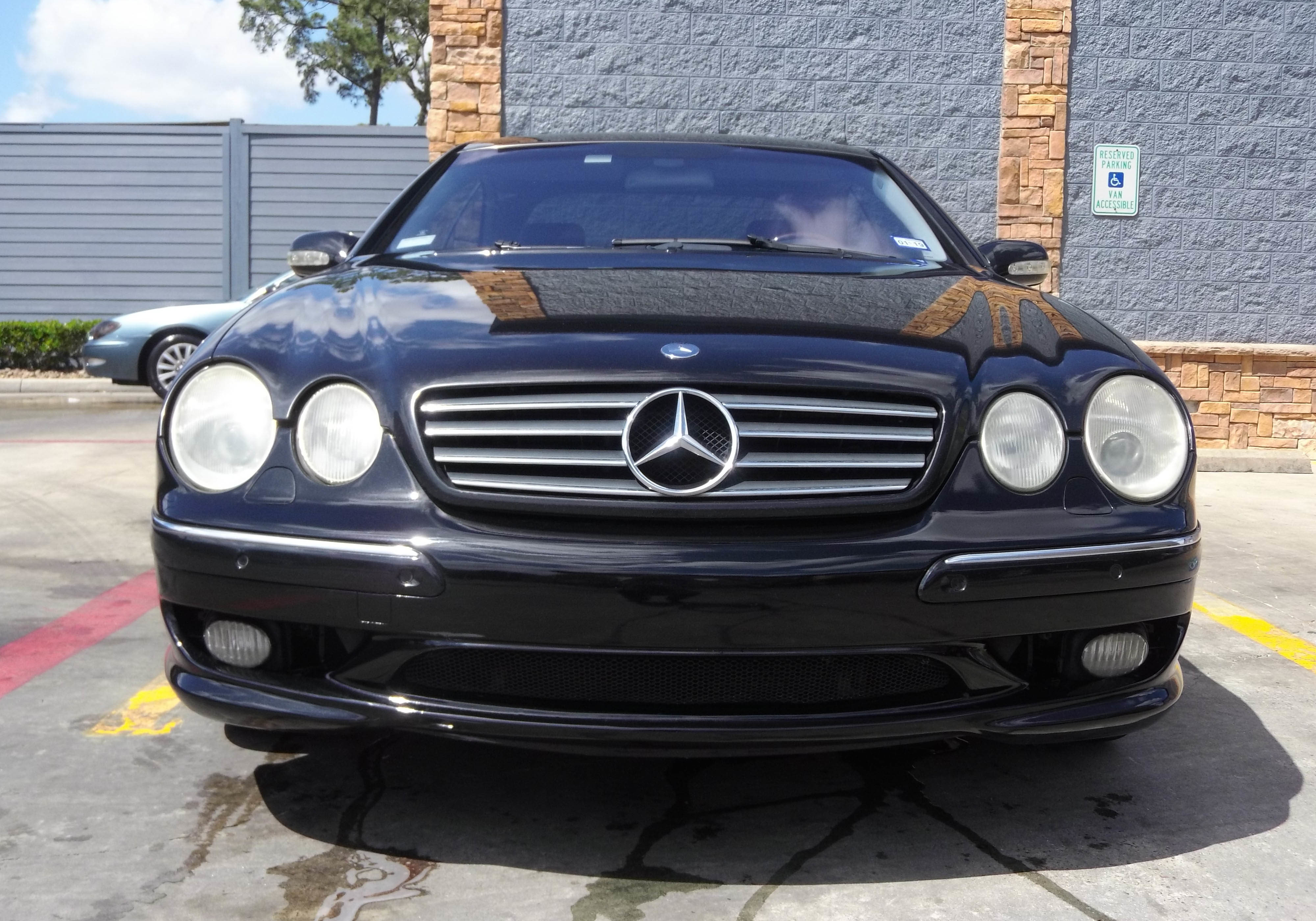 2001 Mercedes Benz CL55 AMG (Bumper Cover Repair)